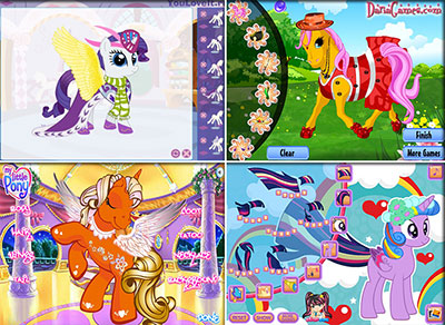 Рекламных открыток, пони игра создай открытку